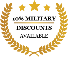 10% Military Discount Available